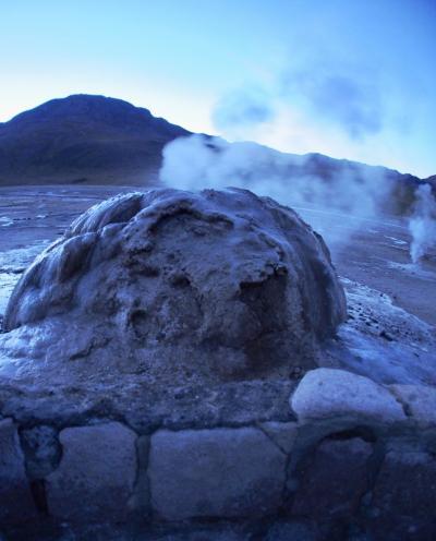 アンデス山脈を越えて、世界最高峰4000m超、天空の砂漠:『アタカマ砂漠』で美しい光景と、薄い空気に、くらくらでへろへろになる旅....#4(サンペドロ・デ・アタカマ San Pedro de Atacama/チリ)