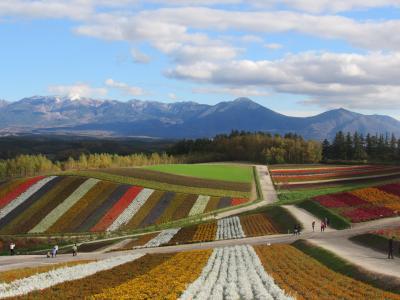 秋の北海道、観光バスの旅(4日間)