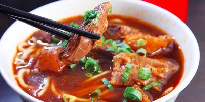 【台北グルメ】  牛肉麺(二ィゥロウミィェン)