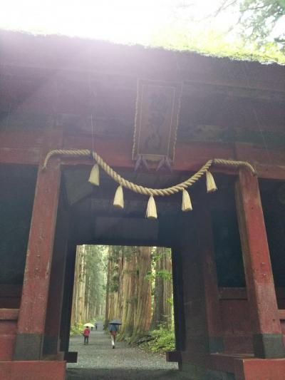 念願の戸隠神社に行きました!①