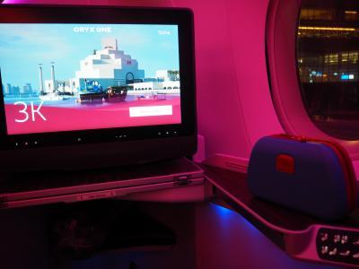 カタール航空ビジネスクラスとドーハショートステイ
