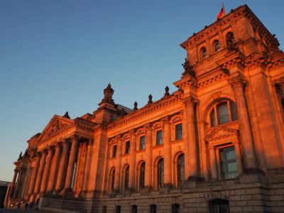 ベルリン街歩きとカタール航空ビジネスクラスでの帰国