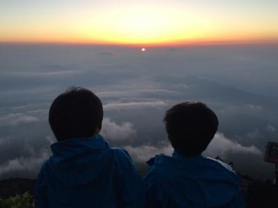 子供と富士登山♪