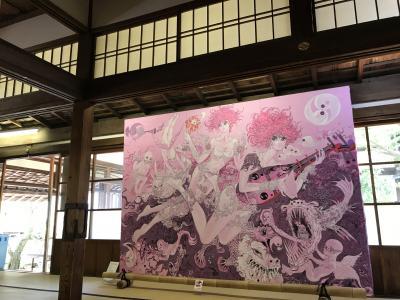 高台寺とアート