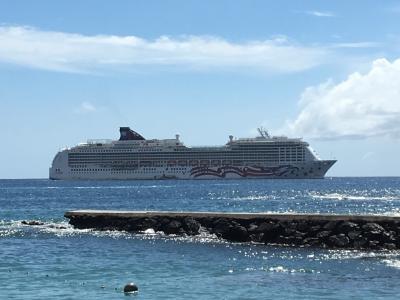 新婚旅行でプライド・オブ・アメリカ【1】ハワイ4島クルーズ~ホノルル出航~