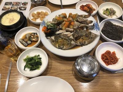 2018年10月ソウルグルメ旅2日目