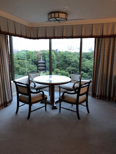 2019年 9月 両親の様子を見に弾丸日本 その2 ホテル椿山荘東京 と 今回食べたもの編。