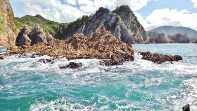 浦富海岸と白兎海岸