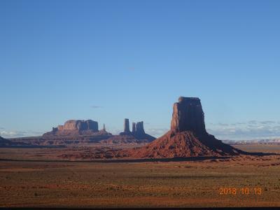 初めて訪れたアメリカの大自然に感動した旅 その一