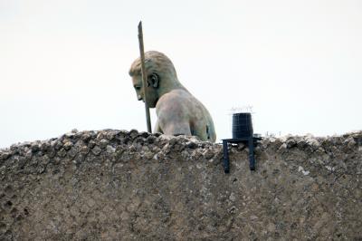 ポンペイ遺跡群を見学