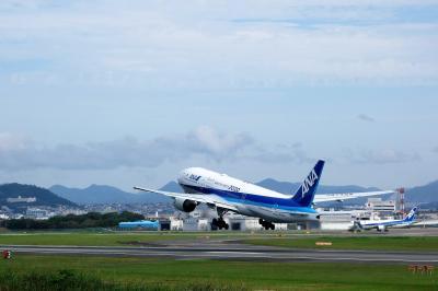 大阪で、スカイ観光2連発☆ Itami & Umeda 〈まずは伊丹スカイパークまで 〉