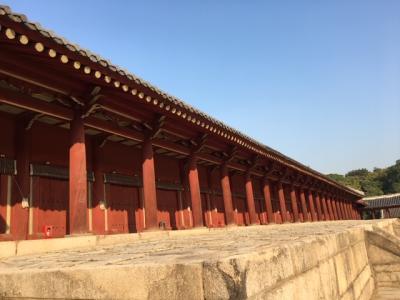 今回もたっぷり楽しんだソウル(および近郊)の秋旅~⑤世界遺産「宗廟」の迫力には改めて感嘆!