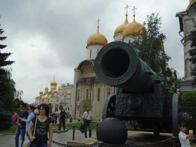 ロシア訪問記 『旧東側の最高機関クレムリン』 モスクワの城砦(クレムリン)