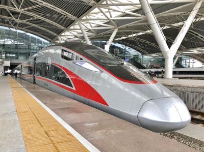138. 広州出張で開通したての香港直通新幹線(広深港高鉄)のビジネスクラスに乗ってきた