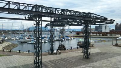 秋晴れの清水港を散策する!