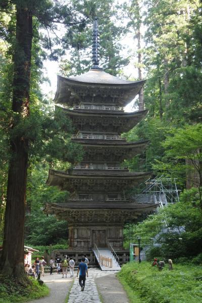 無謀なお盆休み東北旅行【その3】特別公開の羽黒山へ