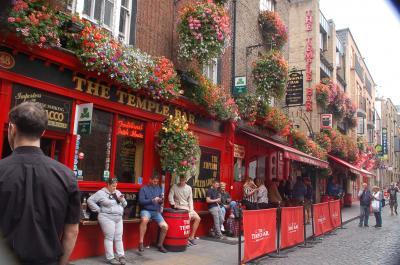 ダブリンの街を散策(2)