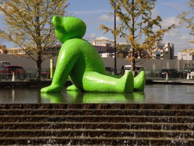 大阪駅近で遊ぶ(昼食はバイキング)