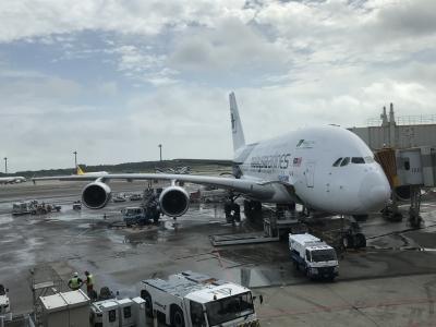 マレーシア航空機内食 成田⇄クアラルンプール⇄オークランド