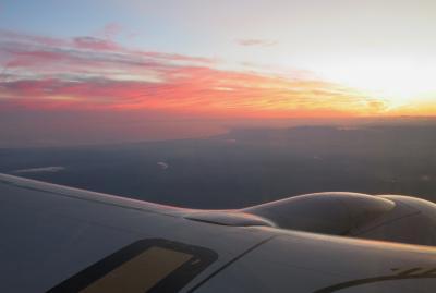 2018秋、道東の名所とチャシ跡巡り(21/21):9月29日(9):鹿落としのチャシ跡(2):釧路空港から新千歳空港経由セントレアへ