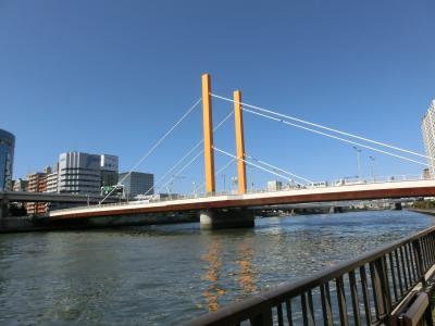 東京文学・歴史散歩19。深川その1:森川駅から芭蕉庵跡、隅田川テラスを歩く。