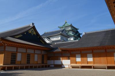 さようなら名古屋城天守、こんにちは本丸御殿