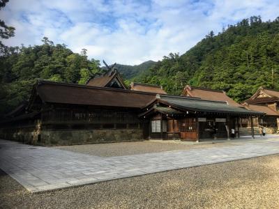 2泊3日 島根 広島旅行 初日は松江と出雲