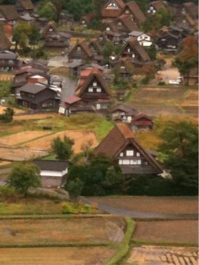 【2011年・秋】下呂温泉、高山、白川郷へ