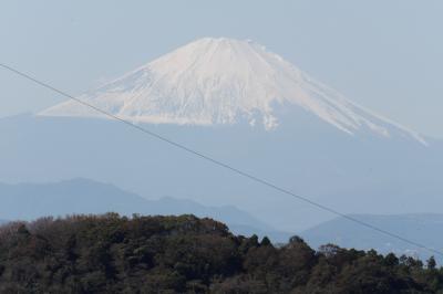 天園-貝吹地蔵間にある富士見所(天園ハイキングコース)