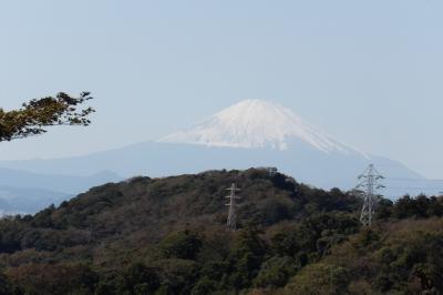天園周辺の富士山が望める場所-2018年秋