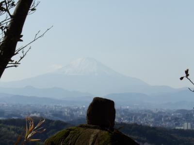 勝上嶽から見る富士山-2018年秋