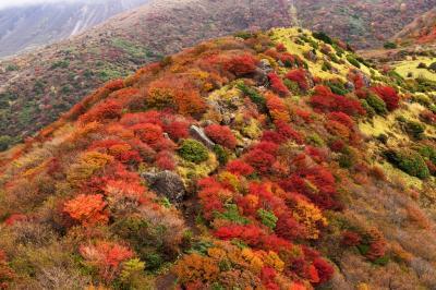 くじゅう連山の紅葉 2018