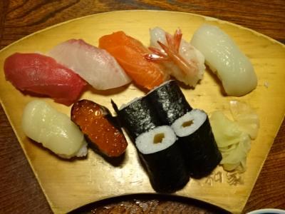 初めての小樽・札幌-2-小樽のマッサンの好きな寿司屋、リタさんの好きな甘党の店