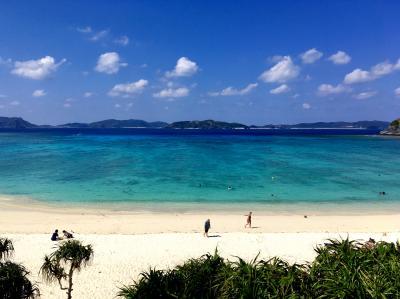 慶良間諸島は日本のハワイ?=渡嘉敷島に行って来ました♪  -渡嘉志久ビーチの巻-