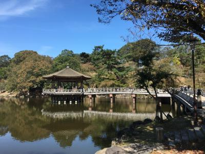 2018年10月 奈良散歩 白毫寺、若草山に登る