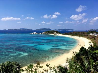 慶良間諸島は日本のハワイ?=渡嘉敷島に行って来ました♪  -阿波連ビーチの巻-