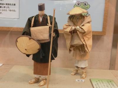 東京文学・歴史散歩22。深川その4:芭蕉記念館、深川江戸資料館。