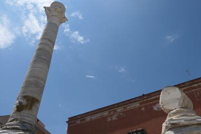 美しき南イタリア旅行♪ Vol.464(第17日)☆ブリンディジ:美しい「古代ローマの円柱」♪