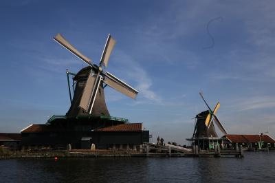 2018年10月 タリス・ICEで行くフランス・オランダ・ドイツ・ベルギー鉄道の旅(4) ザーンス・スカンス風車の村編