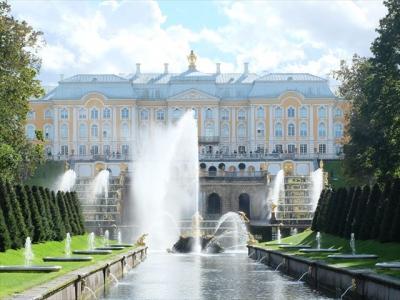 2018年09月ロシア(12) ピョートル大帝の夏の宮殿(下の公園)