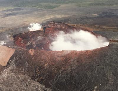 新婚旅行でプライド・オブ・アメリカ【3】~ハワイ島ヒロ・キラウエア火山ヘリコプター~
