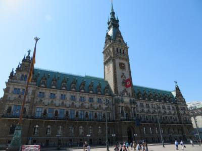 心の安らぎ旅行(2018年春 Hamburg ハンブルク Part2 Rauhaus 市庁舎♪)