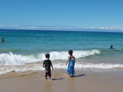 ヒルトンワイコロアに泊まる子供2人連れ時々写真の旅①