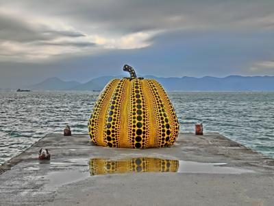 アートで有名な『直島』へ行ってみたら本当にアートが溢れてた!!