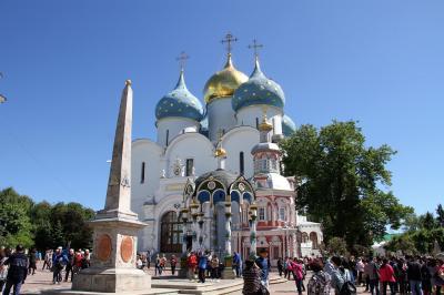 嬉しい誤算続きのロシア旅行 3 ロシア正教の大本山セルギエフ・ポサードのトロイツェ・セルギエフ大修道院を訪ねて②