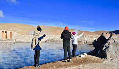 アンデス山脈を越えて、世界最高峰4000m超、天空の砂漠:『アタカマ砂漠』で美しい光景と、薄い空気に、くらくらでへろへろになる旅....#6(サンペドロ・デ・アタカマ San Pedro de Atacama/チリ)