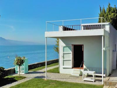 スイス・ミュージアムに行こう32.  レマン湖畔の小さな家