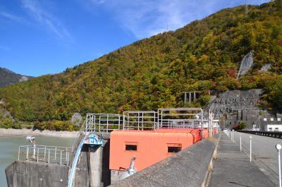 大井川上流へドライブ 2018.10.24 1.畑薙第一ダムへ