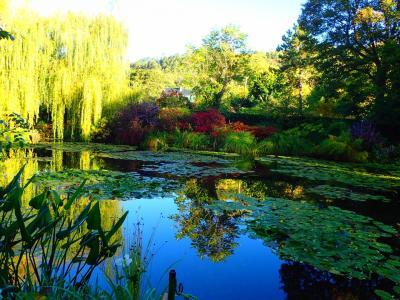 初めてのフランス  パリ その5  ジベルニーモネの家と庭そして睡蓮の池