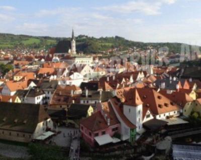 プラハからチェスキークルムロフ ヨーロッパ8ヶ国一人旅